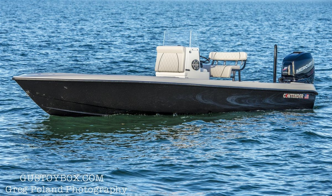 2015 Contender 25 Bay Boat Gus Toy Box