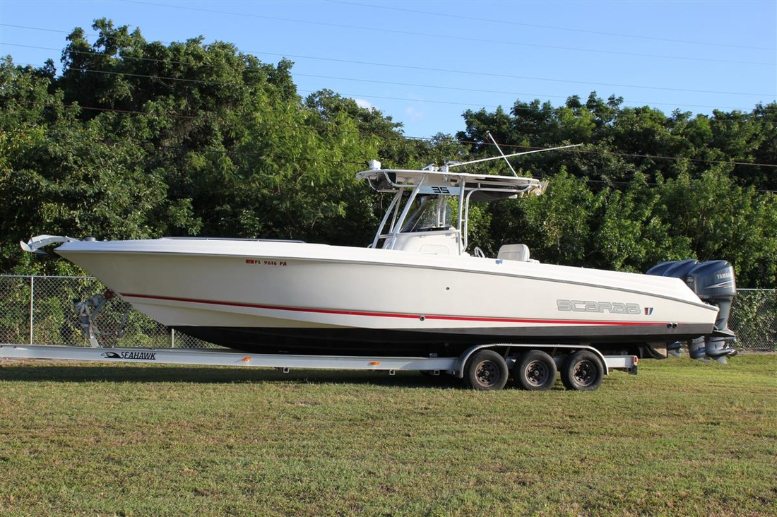 2007 Scarab 35 By Wellcraft Sold Gus Toy Box Contender Boats For Sale