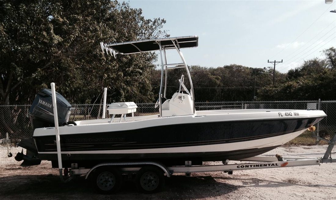 2004 HYDRA-SPORTS 20 BAY BOLT - SOLD